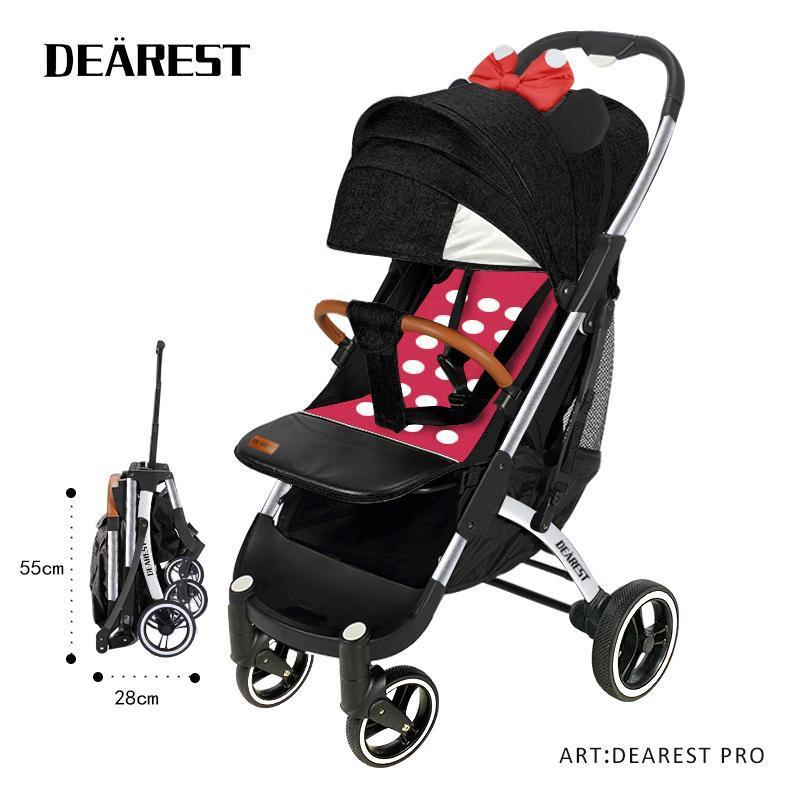 Прогулочная коляска Dearest  PRO (минни маус)