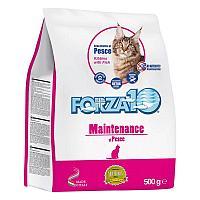 Корм Forza10 Maintenance для взрослых кошек (Рыба) - 10 кг