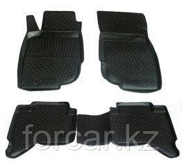 Коврики в салон Toyota Hilux Pick Up (10-) (полимерные) L.Locker