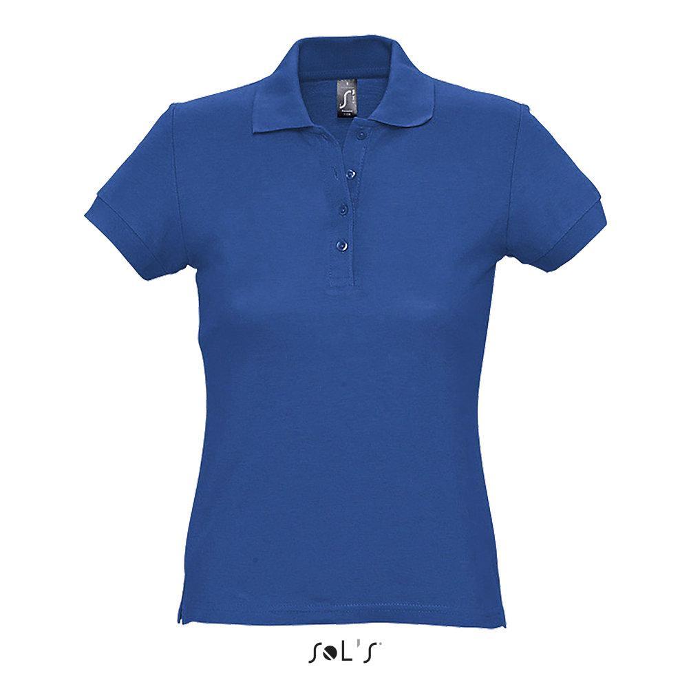Рубашка Поло женская | Sols Passion XL Синий.