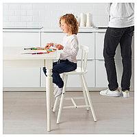 АГАМ Детский стул, белый