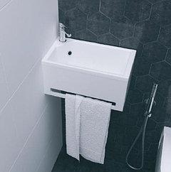Панель с раковиной Tiny 40/50/60/70 см. Белый глянец.