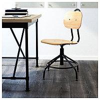 КУЛЛАБЕРГ Рабочий стул, сосна, черный