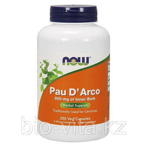 Кора муравьиного дерева.(Pau D'Arco )500 мг. 250 капсул.