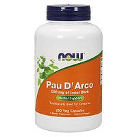 Кора муравьиного дерева.(Pau D'Arco )500 мг. 250 капсул., фото 1