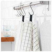 ИКЕА/365+ Полотенце кухонное, белый, 50x70 см, фото 1