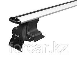 Поперечины (багажник)  D-LUX универсальные для гладкой крыши с креплением за дверной проем (аэро-классик)
