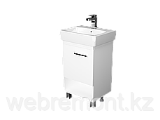 Тумба с раковиной Tera 50 см. подвесная (1 дверка). Дуб сонома, фото 3