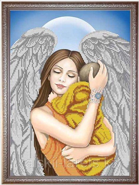 """Схема для вышивания бисером ТМ Благовест  """"Моя мама - ангел""""   К-3086"""