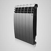 """Радиатор алюминиевый """"Royal Thermo"""" Biliner Silver Satin 585/80/87 мм Россия 168 Вт/1.31 кг"""