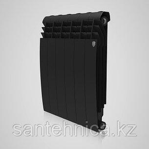"""Радиатор алюминиевый """"Royal Thermo"""" Biliner Noir Sable 585/80/87 мм Россия 168 Вт/1.31 кг, фото 2"""