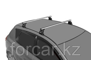Багажная система LUX с дугами 1,2м аэро-классик (53мм) для а/м Mitsubishi Outlander III 2012-, VW Amarok, фото 3