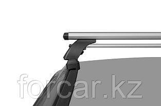 """Багажная система """"LUX"""" с дугами 1,2м аэро-трэвэл (82мм) для Hyundai Solaris (Accent) хэтчбек, Mazda 6, фото 2"""