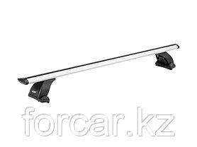 """Багажная система """"LUX"""" с дугами 1,2м аэро-трэвэл (82мм) для Hyundai Solaris (Accent) хэтчбек, Mazda 6, фото 3"""