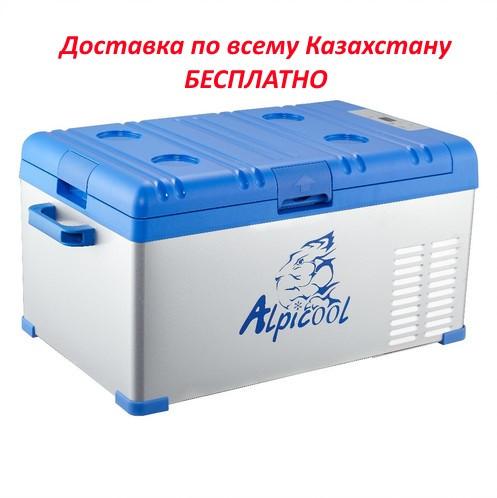 Компрессорный автохолодильник Alpicool A25 (25 Л) 12-24-220В - фото 1