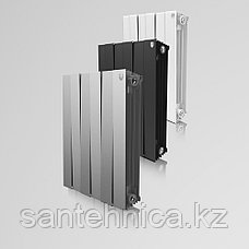 "Радиатор биметаллический ""Royal Thermo"" Piano Forte 591/80/100 мм Россия 189 Вт/2.2 кг, фото 3"