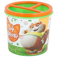 "Подставка для карандашей ""44 котёнка"", 0.5л, М7658"