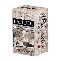 Чай чёрный пакетированный Четыре сезона Зимний чай Winter tea, 20пак Basilur