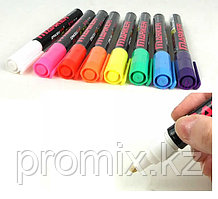 Флуоресцентные маркеры для LED доски, набор 8 шт. ORKEY OR-800W-8