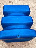 Пластиковая емкость бочка 500 литров синяя, фото 2