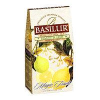 Чай чёрный рассыпной Волшебные фрукты Лимон и лайм, 100гр Basilur