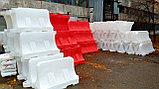 Дорожные водоналивные блоки (барьеры) 1.2 м, фото 2