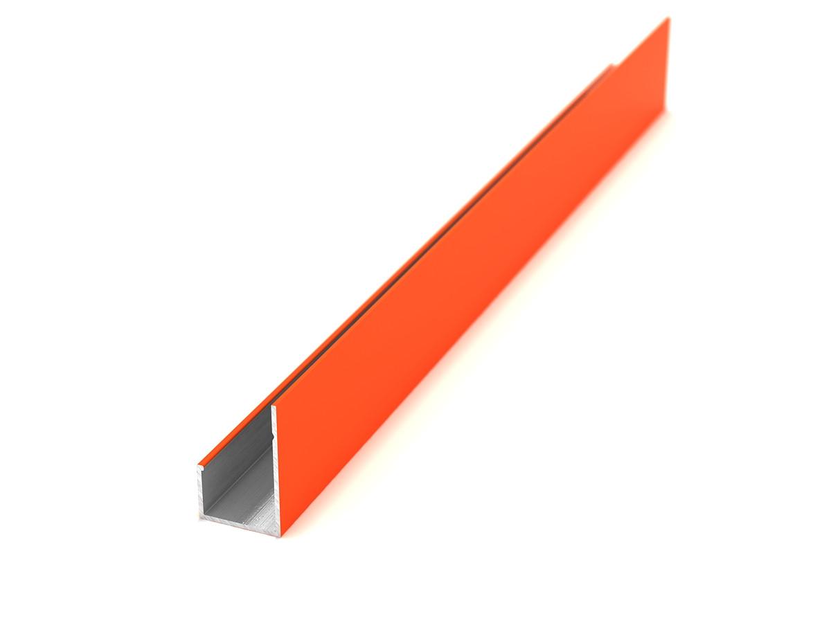 Декоративный L профиль стальной [цветной]