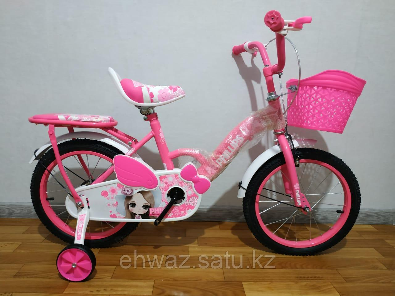 "Велосипед PHILLIPS Принцесса 16"" от 5 до 7 лет"