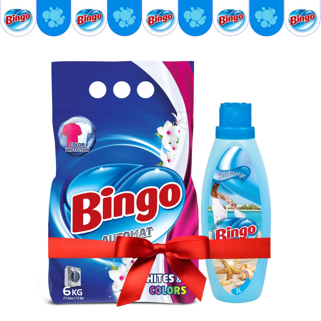 Стиральный порошок Bingo Automat 6 кг