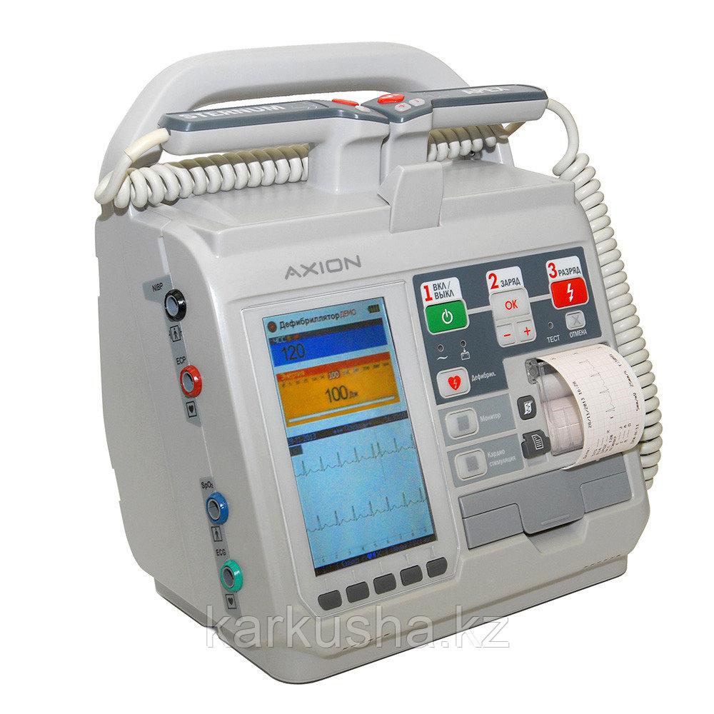 Дефибриллятор ДКИ-Н-11 Аксион - средняя комплектация (дефибриллятор + ЭКГ + НИАД + SpO2 + слот карта)