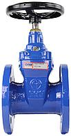 Задвижка FAF 6000 (ФАФ) DN 100 PN 10 с обрезиненным клином F4 (для питьевой воды)