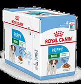 Корм в соусе Royal Canin Mini Puppy Junior для щенков мелких пород - 12 х 85 г