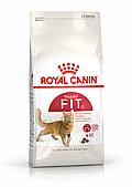 Корм Royal Canin Fit 32 для активных взрослых кошек бывающих на улице - 400 г