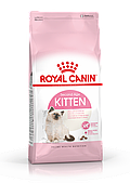Корм Royal Canin Kitten для котят в возрасте от 4-х до 12 месяцев - 2 кг