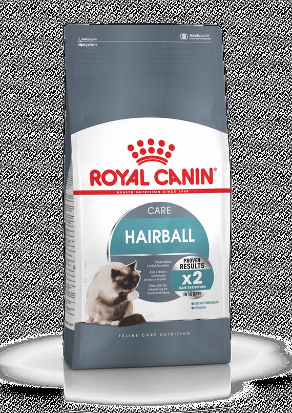 Корм Royal Canin Intense HairBall Care для кошек, для выведения волосяных комочков - 2 кг