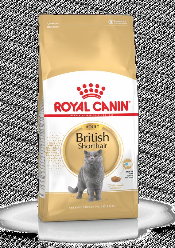 Корм Royal Canin British Shorthair Adult для взрослых Британских короткошерстных кошек - 2 кг