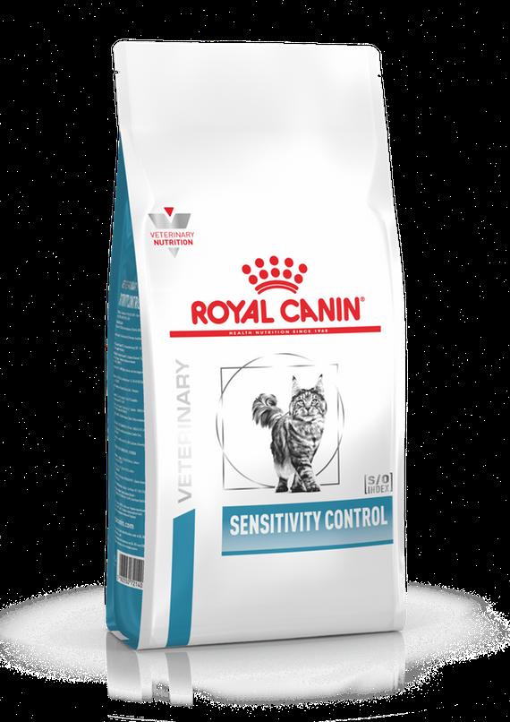 Корм Royal Canin Sensitivity Control для кошек с аллергией алиментарной природы - 1.5 кг