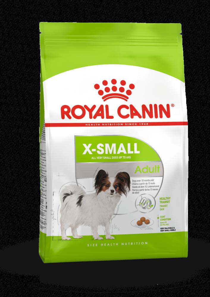Корм Royal Canin X-Small Adult для взрослых собак миниатюрных пород - 1.5 кг