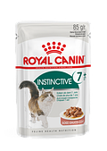 Корм Royal Canin Instinctive 7+ для кошек старше 7 лет (в соусе) - 85 гр. х12шт