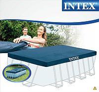 Intex 28037 тент для прямоугольного каркасного бассейна размером 400 х 200 см