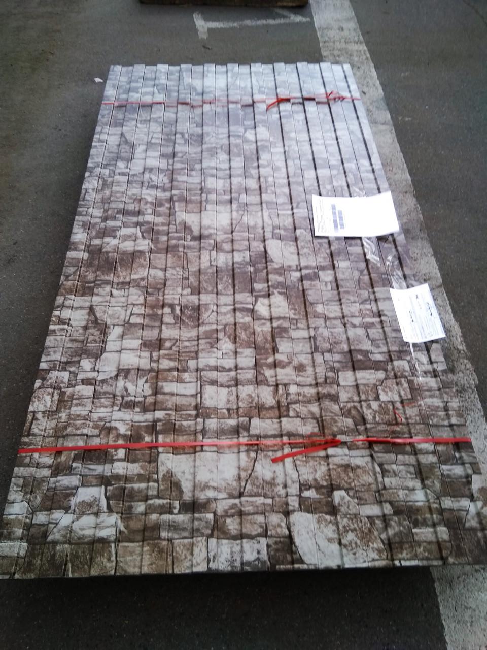 """Профнастил """"Рваный камень"""" 0,45 мм толщина С8, НС20, НС21, НС35, НС44 от 100 п.м цена 5135 тг/п.м."""