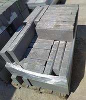 Бордюр вибропресованный 500x200x80 Серый тротуарный