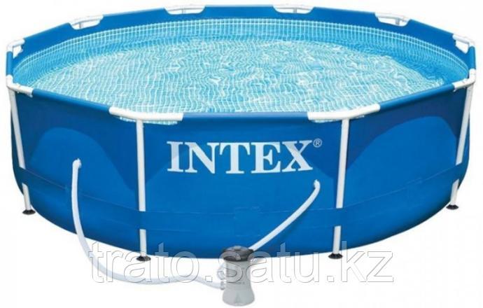 Каркасный бассейн Intex 305х76см c фильтр-насососом
