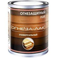 """Огнезащитный """"ОГНЕЗА-ЛАК универсальный""""КМ 1 глянцевый, 2,4 л"""