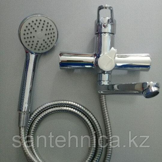 Смеситель для ванны Casela 53135 короткий поворотный гусак