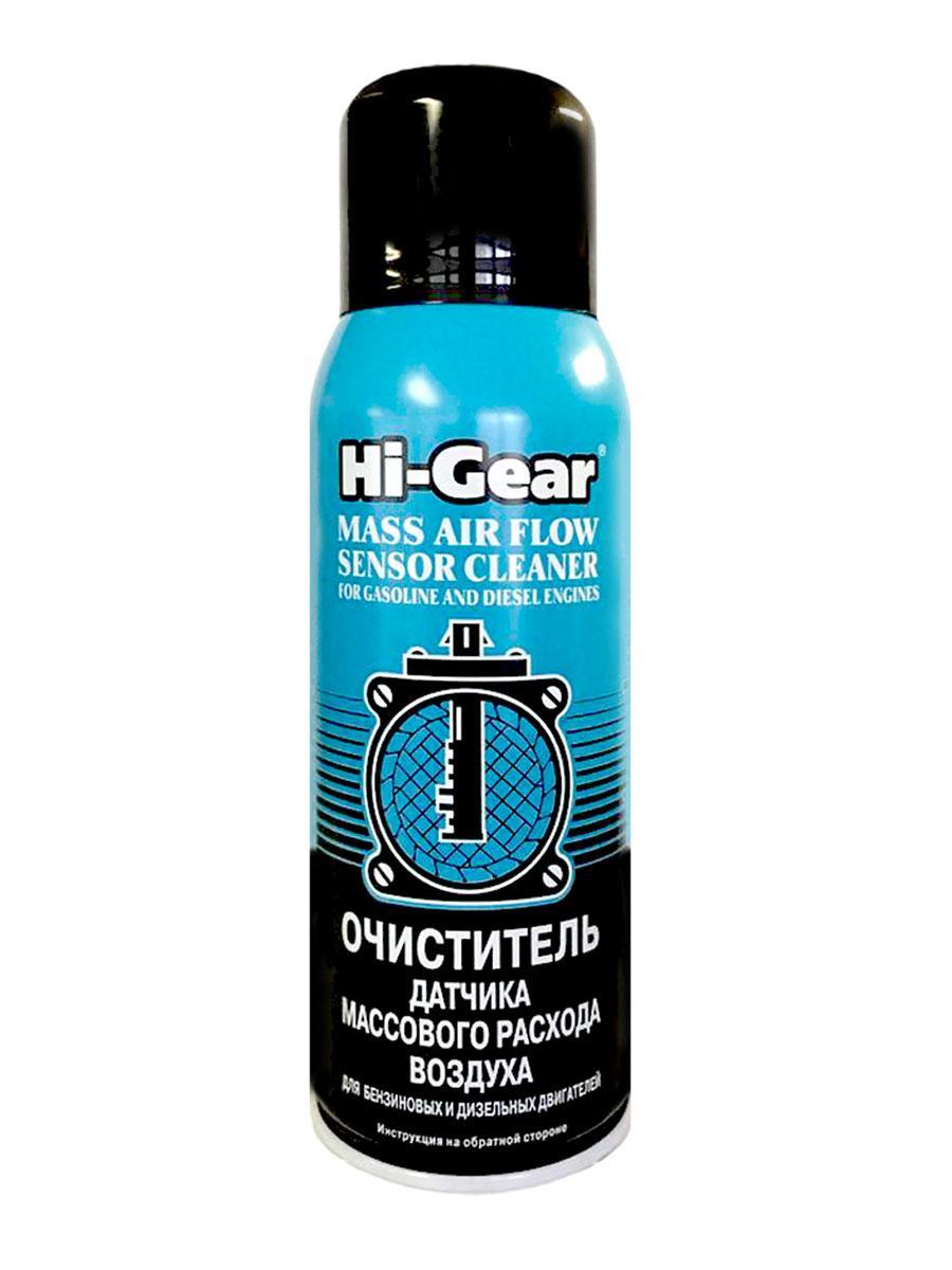 Очиститель датчика массового расхода воздуха, Hi-Gear, 284г