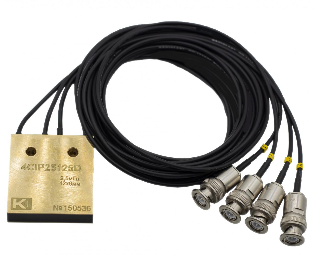 Преобразователь иммерсионный 4-х канальный 4CIP25125D