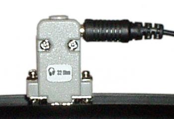 Переходник для подключения стандартных наушников к дефектоскопу