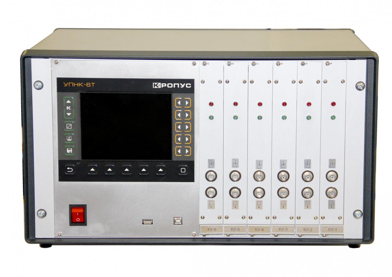 Портативный промышленный УЗ дефектоскоп УПНК-6Т с параллельными каналами