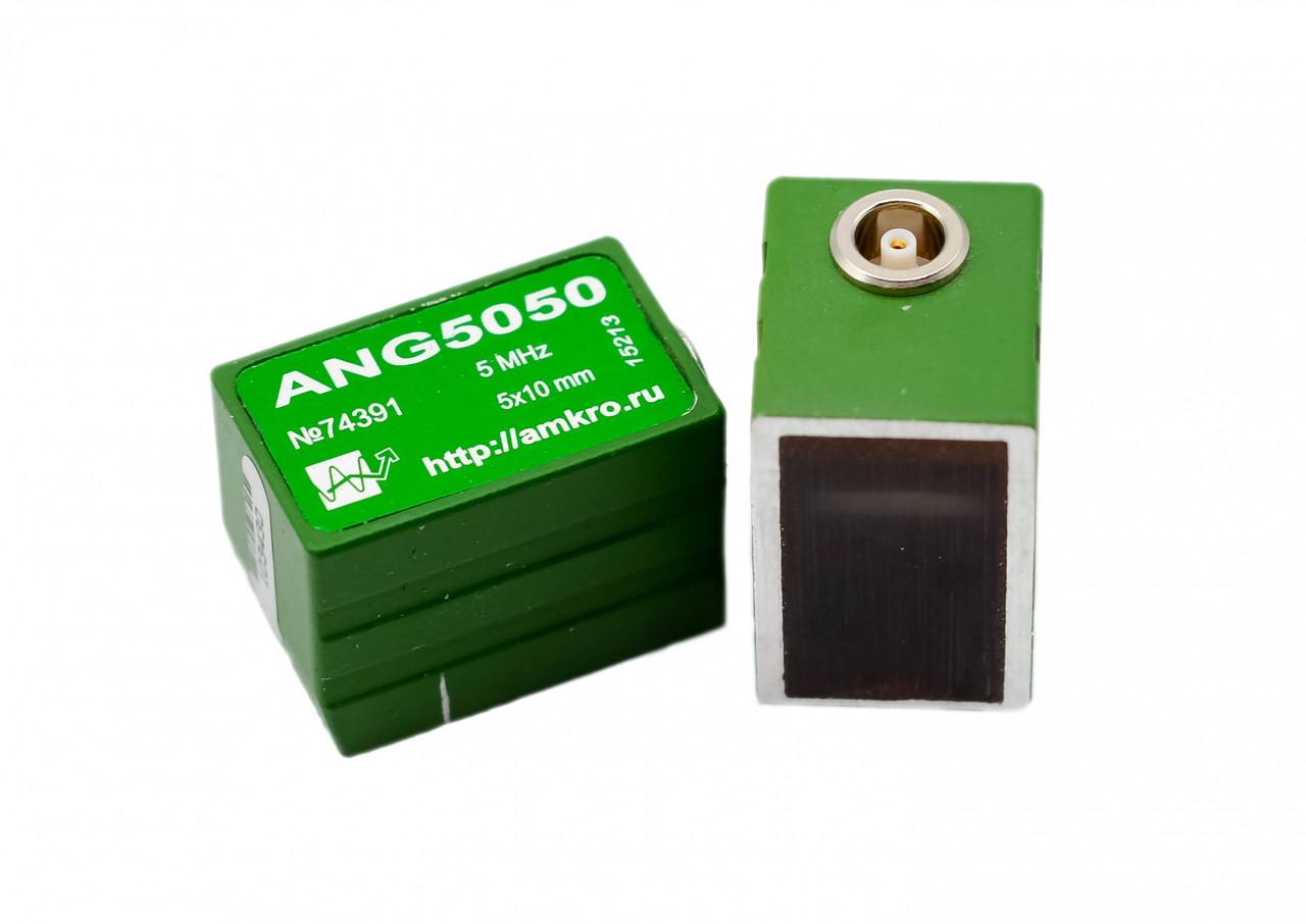 Малогабаритные наклонные преобразователи ANG50xx УЗ ПЭП 5МГц